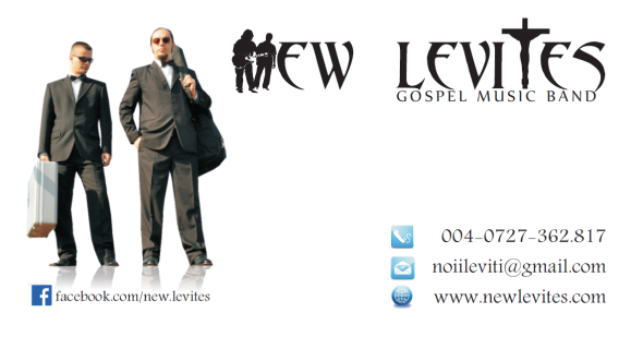 New Levites - Contact Information