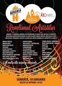 Afis Revelionul Artistilor