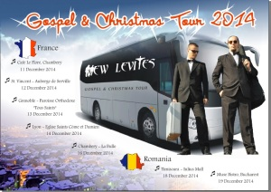 Afis Turneu Franta 2014