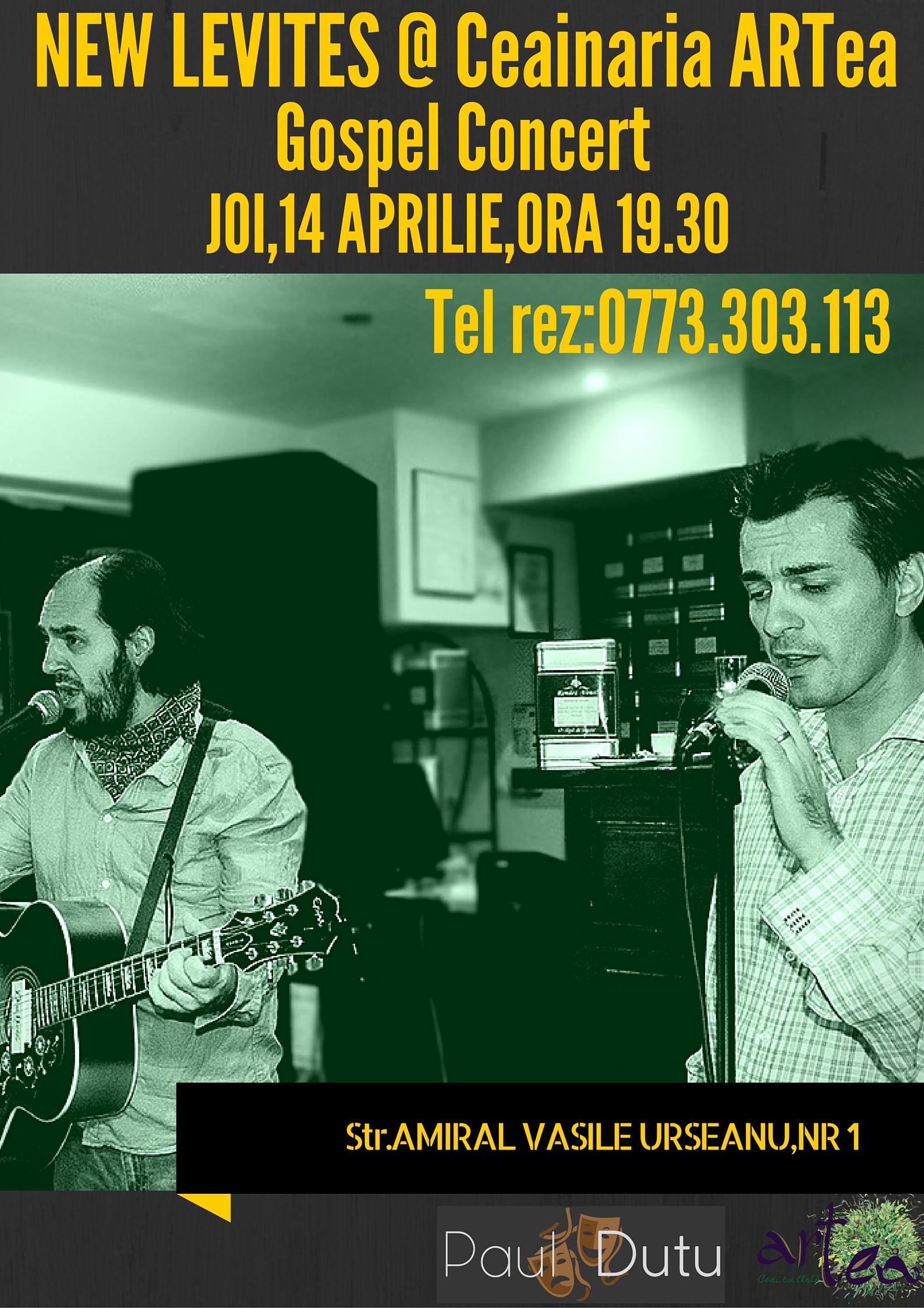 NEW LEVITES @ Ceainaria ARTea(1)