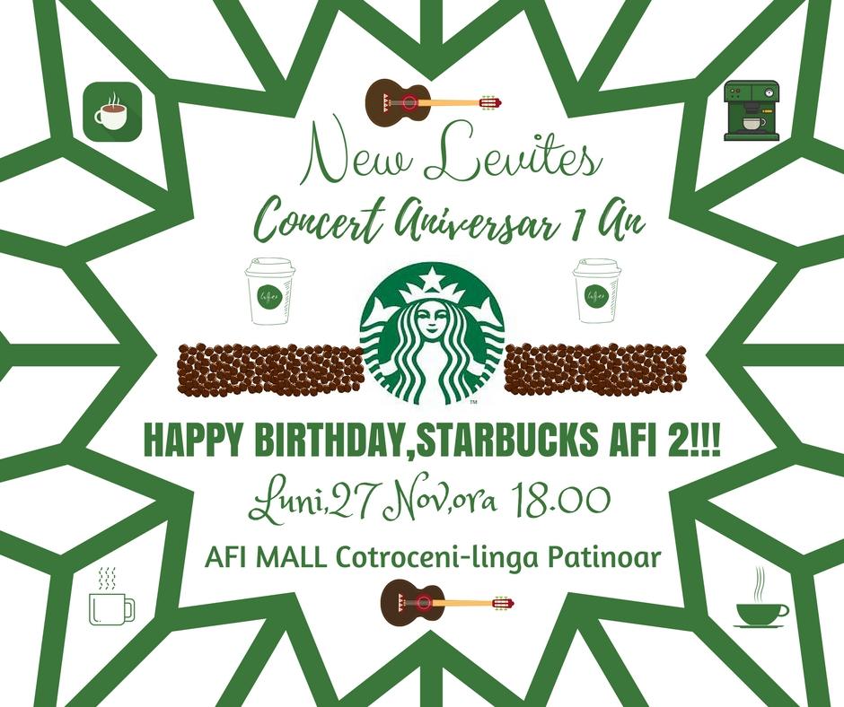 Starbucks Afi 2-Concert Aniversar 1 An