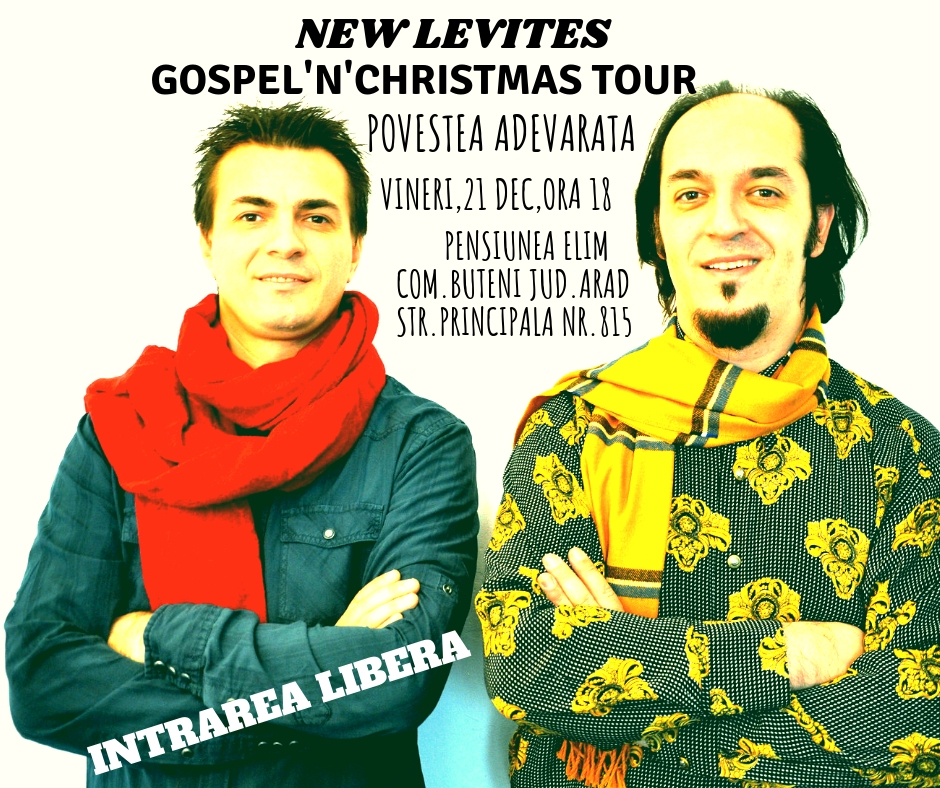 Pensiunea Elim-Gospel'N'Christmas Tour 2018