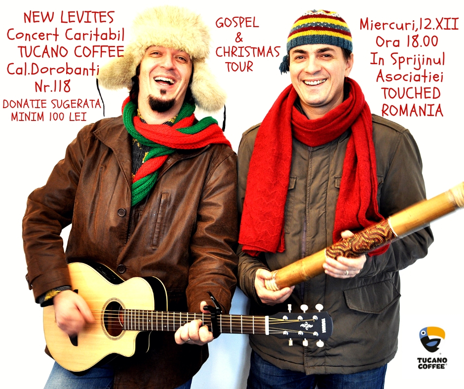 New Levites-Concert Caritabil Tucano Coffee Gospel'N'Christmas Tour 2018
