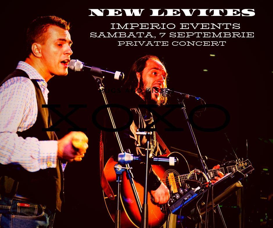NEW LEVITES IMPERIO EVENTS