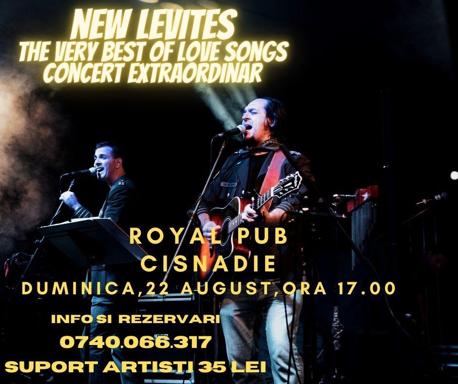 new levites the very best of love songs concert extraordinar